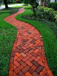 Brick herringbone walkway - Concrete Pavers & Clay Brick Paver Driveways,  St Petersburg FL Achieve this look with Glen-Gery Clay Pavers!
