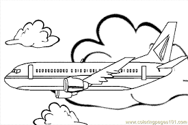 Small Picture Airplane Coloring Page 15 Coloring Page Free Air Transport