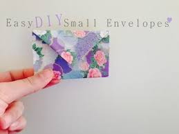 Easy Diy Small Envelopes Gift Bag Origami Paper Youtube