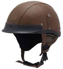 7 woljay vintage motorcycle helmet half helmet with leather look