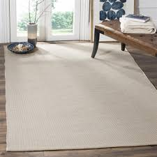safavieh mtk345a montauk flat weave ivory and grey area rug lowe s canada