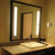 Mirror with led lights Bathroom Mirror Defogger