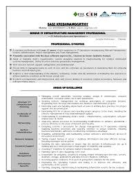 It Infrastructure Resume Generous It Infrastructure Manager Sample Resume Gallery Entry 1