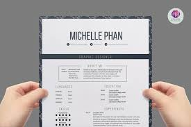 Elegant Resume Template Resume Templates Creative Market Pro