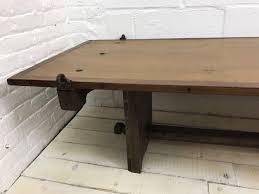 Handmade Reclaimed Wood Coffee Table French Countryside