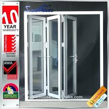 interior accordion glass doors. Folding Glass Doors Exterior Cost Accordion Door Low U Factor Standard Of . Interior L