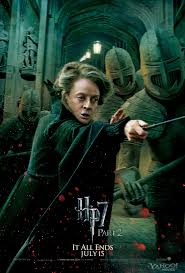 harry potter and the deathly hallows part character posters  harry potter deathly hallows 2 movie poster mcgonagall
