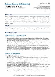 Director Engineering Resumes Director Of Engineering Resume Samples Qwikresume