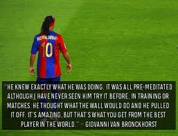 Football Quotes By Players Fascinating Top 48 Quotes On Ronaldinho