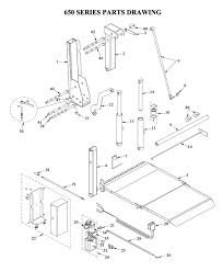 liftgate diagrams tommy gate liftgate parts diagrams shop ite tommy gate 650 series diagram cargo van