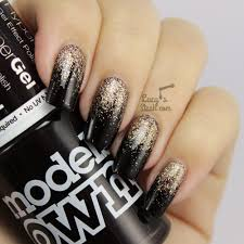 Autumn Glitter Gradient Nail Art (with tutorial) - Lucy's Stash