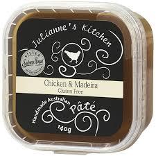 Julianne Kitchen Pate Chicken With Maderia 140g   Woolworths