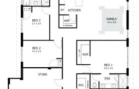 3 Bedroom 2 Bath House Plans Cool Inspiration