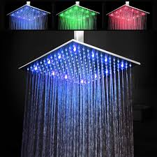 Steo Gmbh Luxury Rgb Rain Shower Ceiling Shower 50 X 50