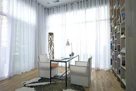 privacy sheer curtains contemporary home office by martin sheer curtains  privacy night
