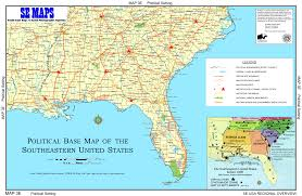 southeast us region map blank se maps regional maps home and map