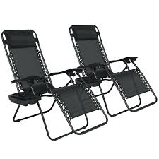 reclining chair outdoor seat cushions camp with attached footrest target