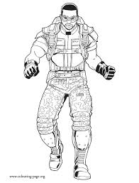 Kleurplaat Winter Soldier The Winter Soldier Coloring Pages Download