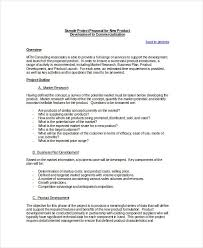 New Project Proposal Template Project Proposal Outline Project Proposal Template