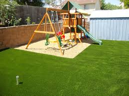 Remarkable Exterior Decoration Design In Backyard Landscaping Ideas For Kids  : Beautiful Brown Wooden Play House ...