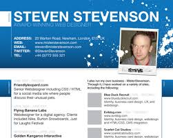 10 Web Designers Create A Resume Blue Sky Resumes Blog