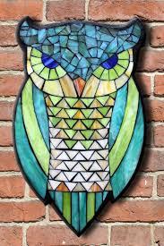 template owl design 6 horned owl