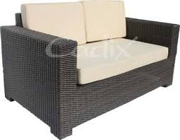 quattro brown wicker seater 2 seater garden sofa simple ent garden