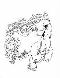 Dolce Baby Unicorno Disegno Da Stampare E Da Colorare Gratis