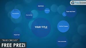 Prezi Resume Template Best Of Prezi Resume Template Prezi Template Free Blue Circles Template For