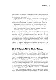 assessment learning science in informal environments people  page 55