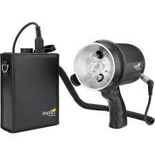 impact litetrek 4 0 dc monolight and mini litetrek lt battery pack kit