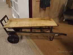 slingsby railway platform trolley coffee table