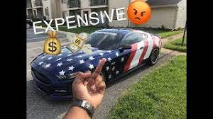 I m 16 and am attracted to the mustangs cool look and low cost. How Much Does My Mustang Cost To Insure 21 Year Old Ownership Costs Youtube