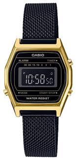Наручные <b>часы CASIO LA</b>-<b>690WEMB</b>-<b>1</b> — купить по выгодной ...