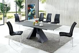 drive modern glass dining table with chairs kitchen delightful wonderful designer