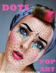 my popart costume makeup pop art make up and photo by best 25 ic book characters ideas on ic book