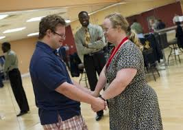 Eve Samples: Couple with Down syndrome learns the art of dance