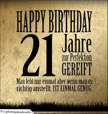 21 Geburtstag Retro Geburtstagskarte Geburtstagssprüche Welt