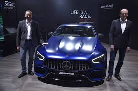 Driving dynamics at motorsport level, explosive sprints, maximum comfort. Auto Expo 2020 Mercedes Benz Amg Gt 63 S 4 Door Coupe Launched In India The Financial Express