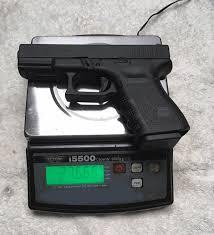 How Much Does A Handgun Weigh Caligunner Com