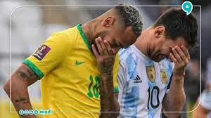 بعد تدخل السلطات البرازيلية الصحية لإيقاف المباراة.. الأرجنتين تنسحب من  مباراتها أمام البرازيل 😷⚽ / Twitter