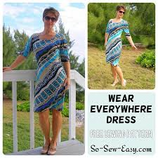 Knit Dress Pattern Custom Wear Everywhere Easy Knit Dress Craftsy
