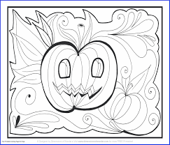 12 Cute Halloween Color By Number Coloring Pages