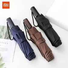 <b>Xiaomi Lsd</b> Three Folding Sun Rain <b>Umbrella</b> Women Men Large ...