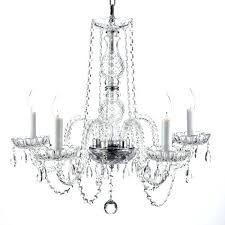 gallery crystal chandelier gallery style all crystal 5 light chandelier gallery odeon crystal chandelier