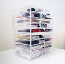 acrylic case with 5 drawers cabinet storage muji storage acrylic makeup storage makeup