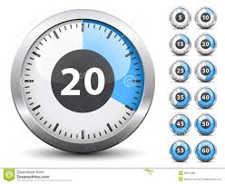 How To Make A One Minute Timer Timer Easy Change Time Every One Minute Stock Vector