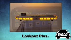 wolo lighting. WOLO Lookout Plus LED Lightbar - 104 Amber LEDs, 52in.L, Model# 7950-A Wolo Lighting