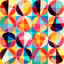Geometric background with rhombus and nodes. Abstract geometric pattern.