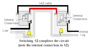 how to wire a three way and four way switch configuration standard three way configuration 2